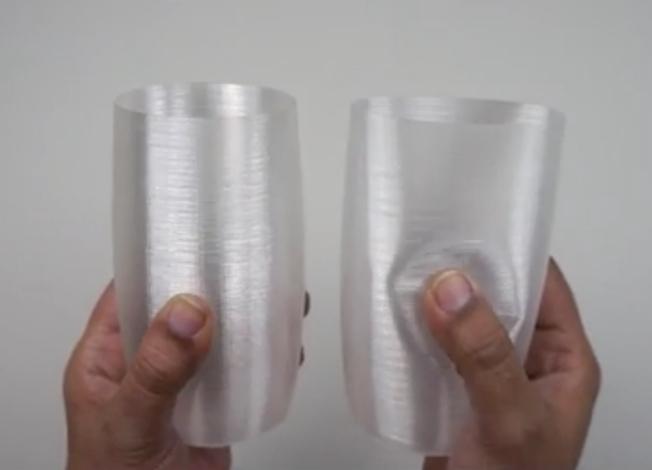 پرینت سه بعدی با متریال PETG شبیه جنس طلق بطری نوشابه به ازای هر ساعت پرینت 9 هزار تومان