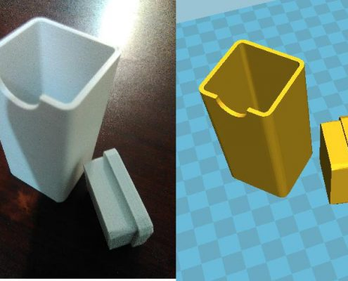 پرینت سه بعدی ایده پرینت سه بعدی اختراع پرینت سه بعدی بطری خاص