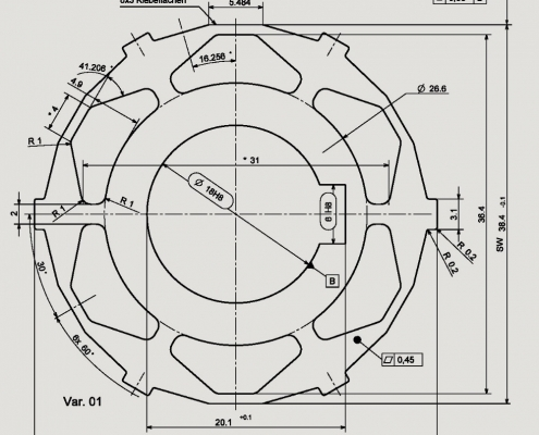 طراحی روتور در محیط Sketcher کتیا