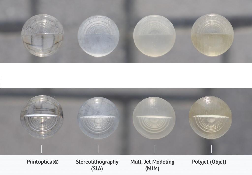 مقایسات قطعات مختلف با روش های تولید متفاوت پرینتر سه بعدی