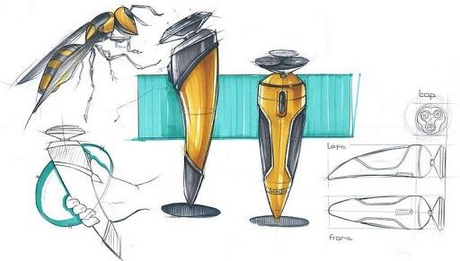 طراحی ریش تراش