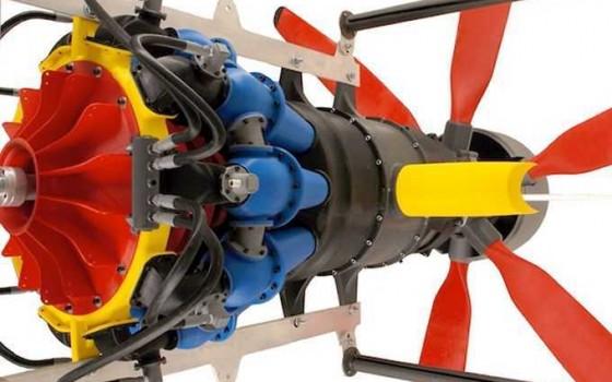 ساخت موتور توربو پراپ با پرینتر سه بعدی
